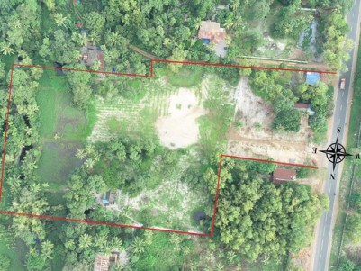 3.65 Acres of Commercial cum Residential plot for sale at Cherthala Town, Alappuzha