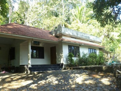 75 Cents of land with 1300 Sq Ft 2 BHK House for sale at Pazhayidam Junction, Manimala, Kottayam