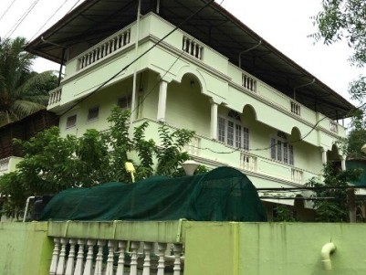 Semi Furnished Three Storied House For Sale at East Fort, Thrissur